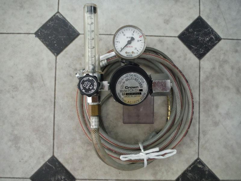 ダイヘンXD350 CO2ゲージ