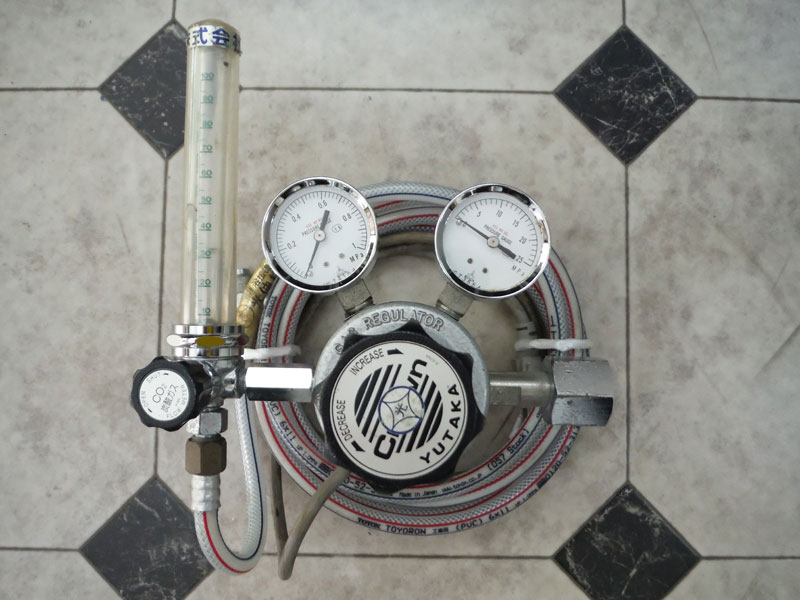 ダイヘンXD350 準耐風用CO2ゲージ