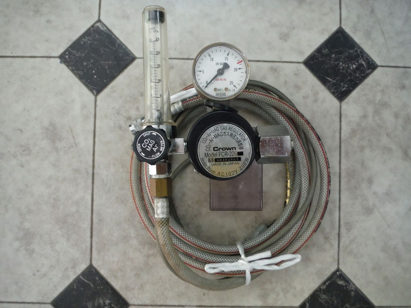 ダイヘンXD500 CO2ゲージ