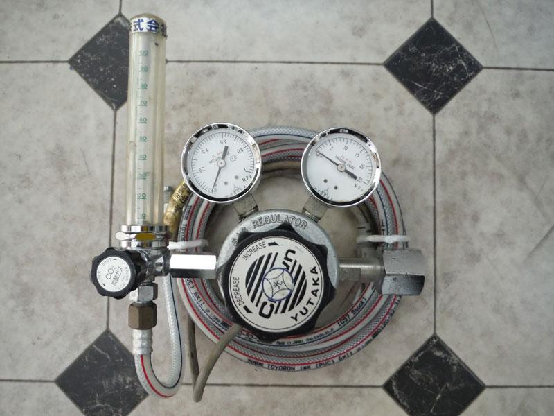 ダイヘンXD500 準耐風用CO2ゲージ