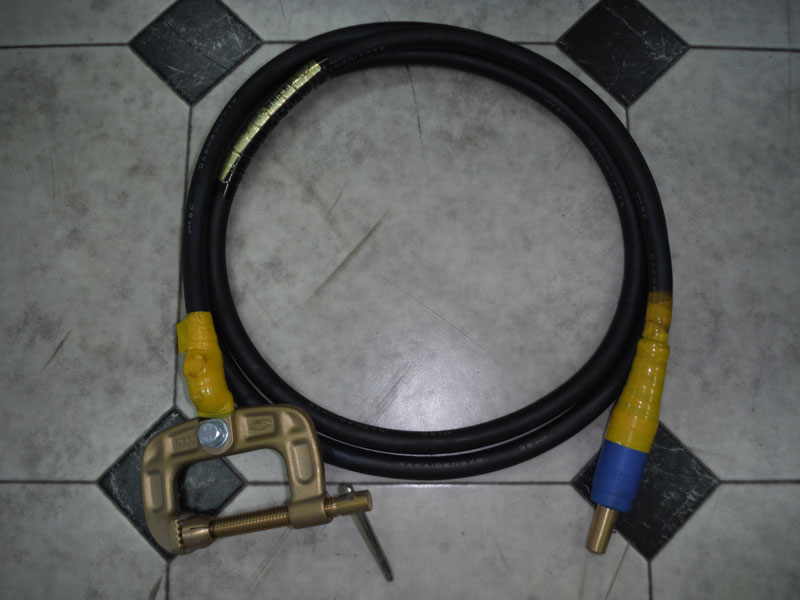 DAT-300 付属品 アースクリップ 300A 2.5m