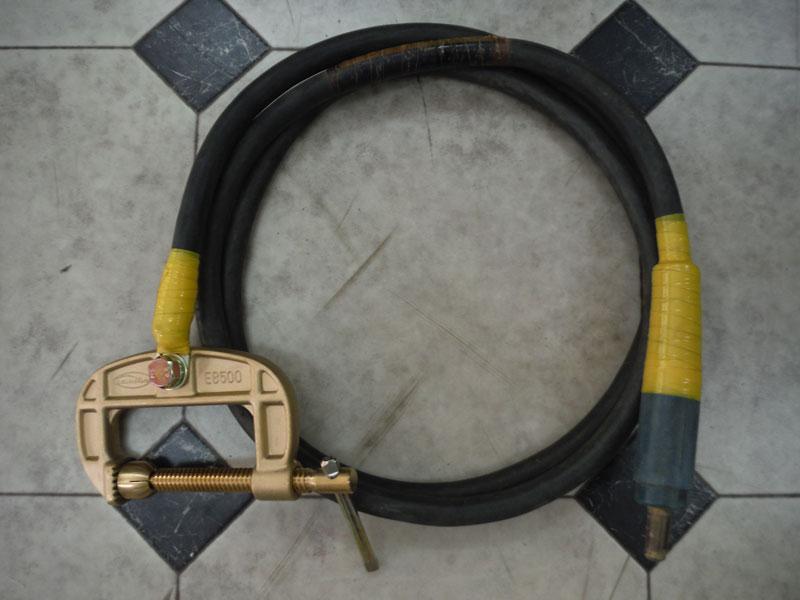 パナソニックKR2 アースクリップ 500A 2.5m